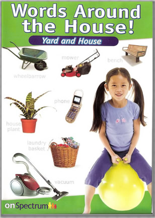 Words Around The House Yard Amp House Bumblebee Kids